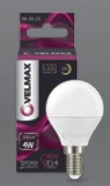 LED лампа Velmax G45 4W E14 3000K 360Lm