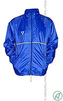 Ветровка утепленная с капюшоном Titar синяя