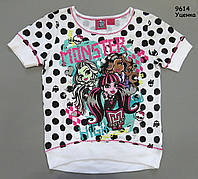 Футболка Monster High для девочки. 4-5;  6;  7-8  лет