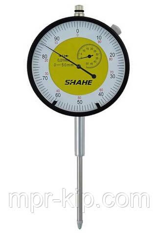 Індикатор годинникового типу ИЧ Shahe-50 0-50/0.01 мм (5301-50) без вушок