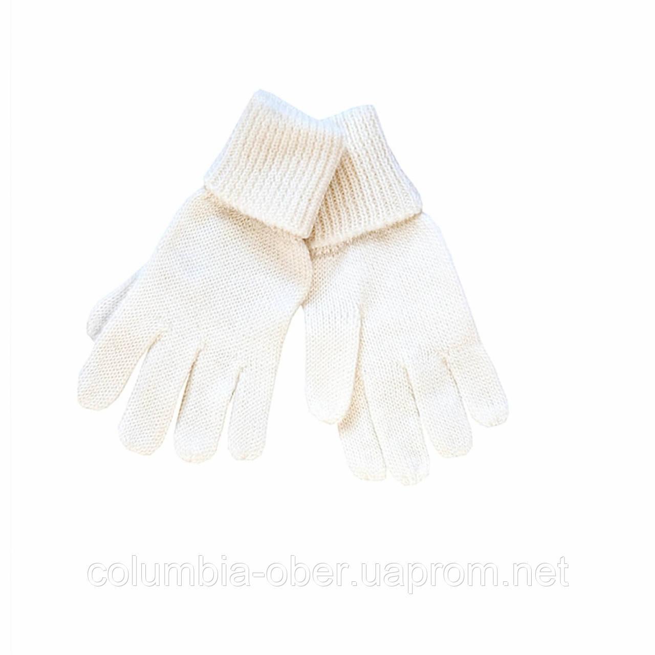 Зимние детские перчатки для девочки Lenne Kira 17593-100. Размеры  3 и 4.