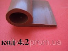Уплотнитель силиконовый Р-15мм