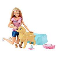 Игровой набор Barbie кукла Барби и Собака с новорожденными щенками FDD43, фото 4