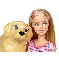 Игровой набор Barbie кукла Барби и Собака с новорожденными щенками FDD43, фото 9