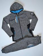 Спортивный костюм для мальчика на флисе р.134-164