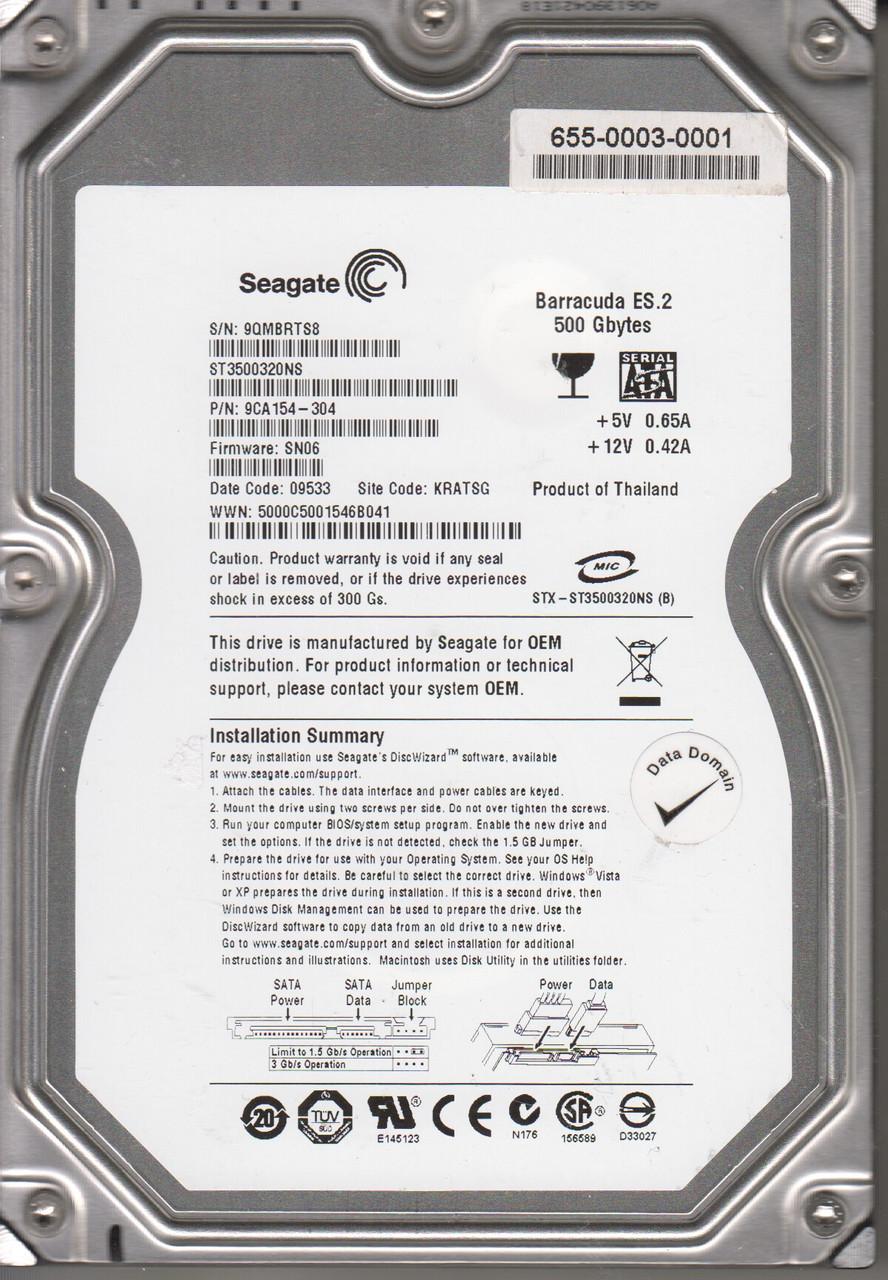 Жесткий диск (HDD) 500GB Seagate Barracuda