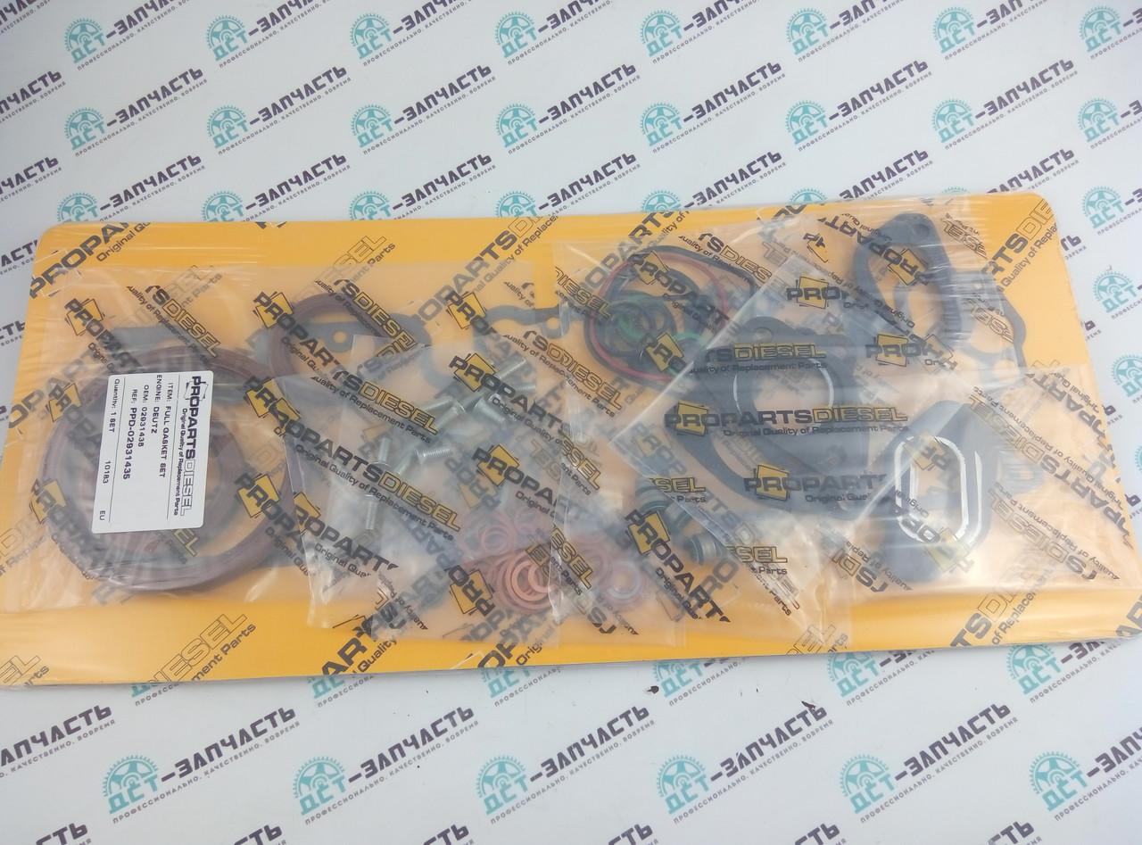 Комплект прокладок Deutz BF4L2011, F4L2011, F4M2011, F4M2012, 02931435