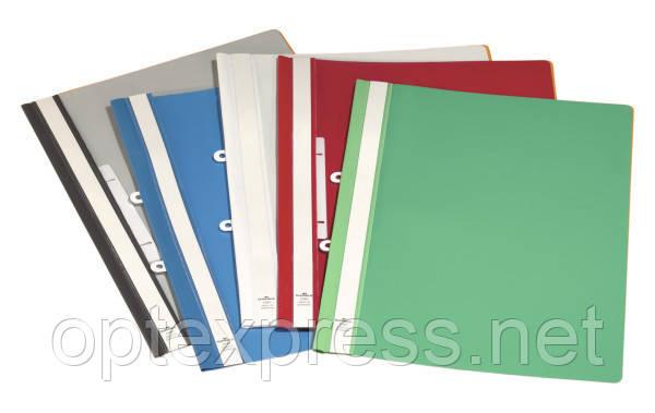 Папка-скоросшиватель с отверстиями для подшивания  DURABLE 2580