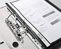 Папка-скоросшиватель с отверстиями для подшивания  DURABLE 2580, фото 4
