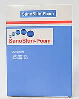 Медицинская абсорбирующая губка Sano Skin Foam 20x50см