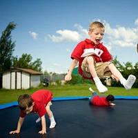 Новые поступления надувных и спортивных батутов для детей и взрослых