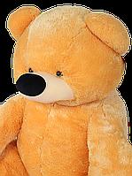 Большая мягкая игрушка Медведь Бублик 180 см медовый