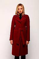 Классическое женское пальто с поясом в Украине