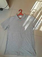 Тениска Поло (светло серая)