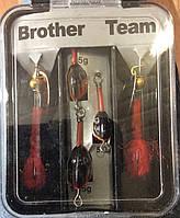 Джиг-блесна вращающаяся Brother Team 5g, 7,5g, 11,5g