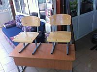 Парта с стульями