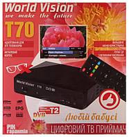 World Vision T2 тюнер ( ресивер) Т2 для любимой бабушки
