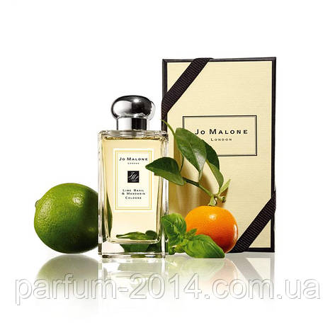 Тестер унисекс Jo Malone Lime Basil and Mandarin (реплика), фото 2