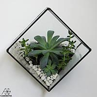 """Геометрический флорариум """"Куб"""""""