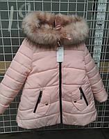 Теплая качественная куртка девочка Мира, 134-152рр