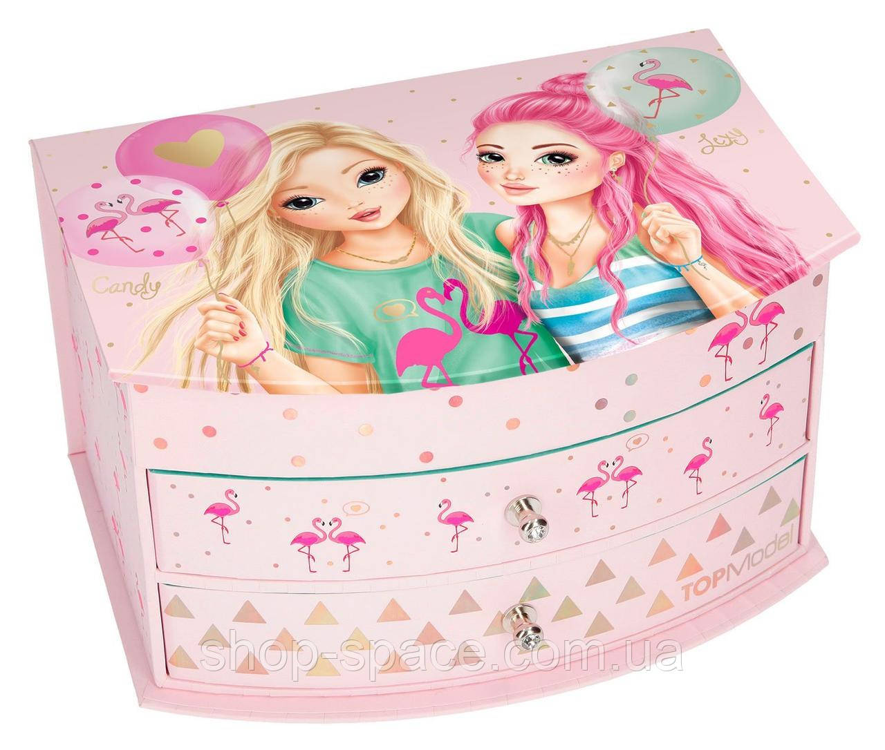 Шкатулка для девочки Top Model Flamingo