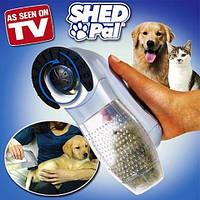Shed Pal — электронная расческа для животных, щетка для животных, устройство для вычесывания питомца — Шед Пал