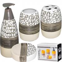 """Керамический набор для ванной комнаты """"Альпы"""""""