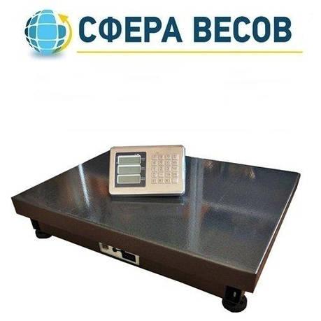 Весы товарные беспроводные ПВП-600T (600 кг - 600x800), фото 2