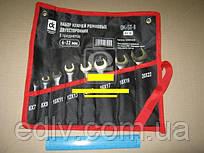 Набір ключів ріжкових двосторонніх 6-22мм, 8 пр. dk-st-8