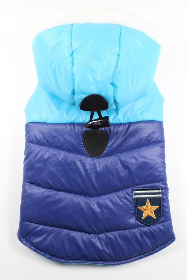 Куртка для животных Ruis Pet,  Patriot синий
