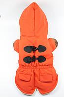 Куртка-пальто для животных Ruis Pet, Bristol оранжевый