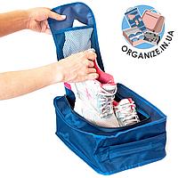Сумка для обуви / в зал ORGANIZE (синий)