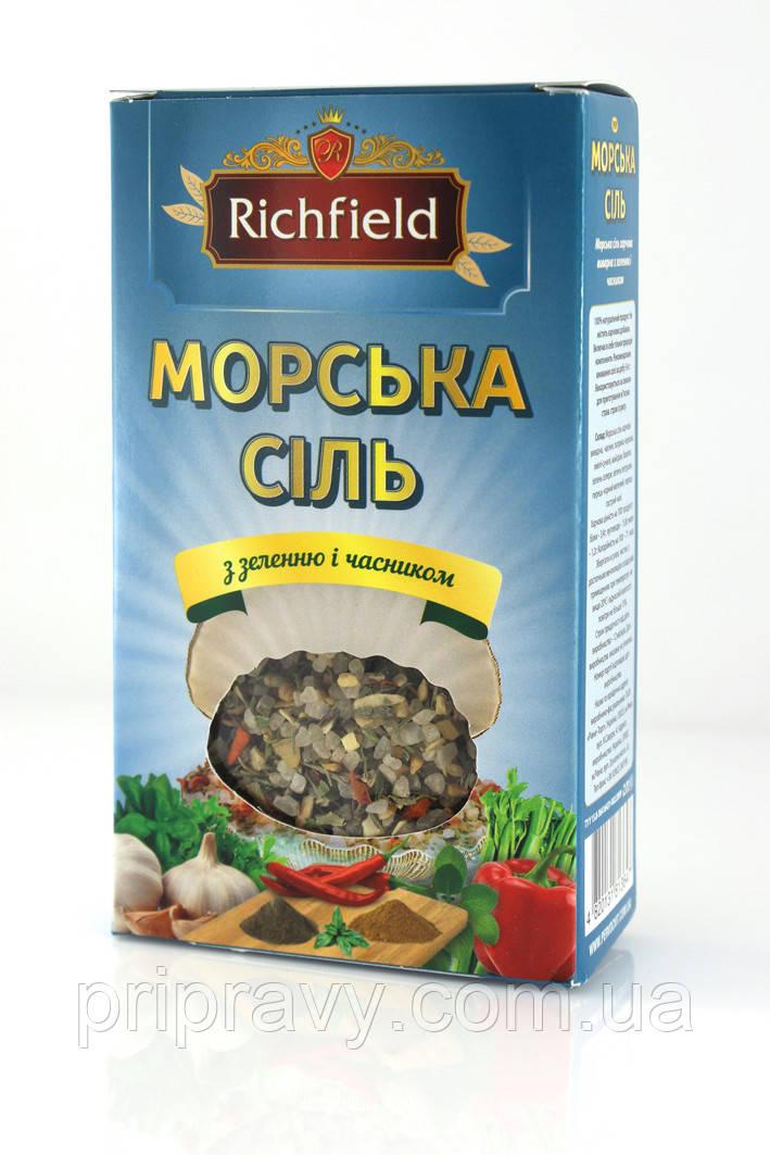 Морская соль с зеленью и чесноком ТМ Richfield, 200 г