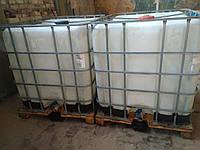 Еврокуб 1000л, IBC, мытый для топлива, сельхозхимии, полива