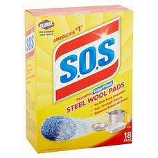 Моющее средство будущего S.O.S Steel Wool Pads, фото 3
