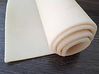 Каучук листовой для ремонта и производства обуви 330*460*6мм. цвет натуральный