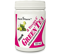 Жиросжигатель Stark Pharm - Green Tea + Vit C (100 таблеток) БАД
