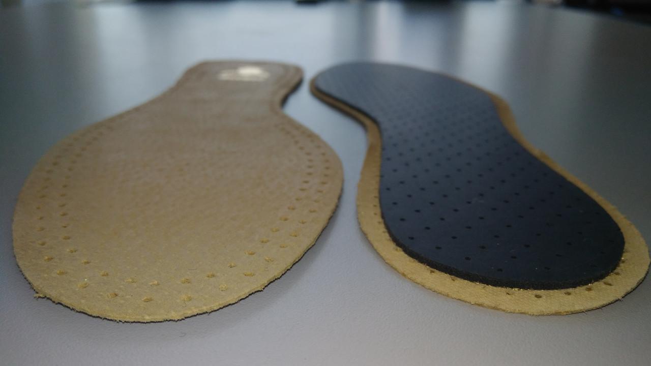 Стелька для обуви кожаная Ortos W-01S/CLASSIC, фото 1