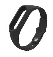 Ремешок для Xiaomi Mi Band 2 MiJobs черный браслет