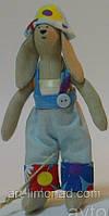 Детская Кукла Тильда Зайка мальчик, фото 1