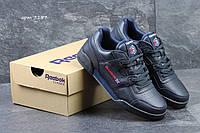 Мужские кроссовки Reebok Workout Classic темно синие 3157