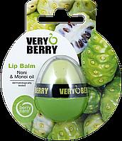 """Бальзам для губ с нони и маслом монои от ТМ """" Verry Berry"""", 11.5 г"""