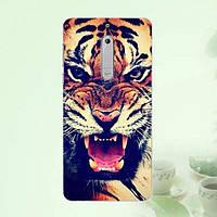 Силиконовый чехол накладка для Nokia 5 с картинкой Тигр, фото 1