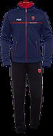 Мужской спортивный костюм темно-синий, демисезонные костюмы мужские