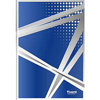 """Книга записная Axent серия """"Office"""", А4, картонная обложка, 96 листов, клетка, синяя"""