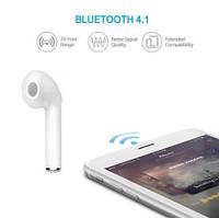 Беспроводная гарнитура один наушник Bluetooth AirPods HBQ i7 для iPhone 7 8 10 X / 7 8 Plus
