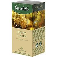 Ароматизированный черный чай Greenfield Honey Linden 25 шт.