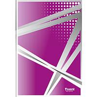 """Книга записная Axent серия """"Office"""", А4, картонная обложка, 96 листов, клетка, фиолетовая"""