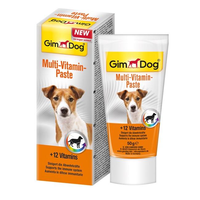 GimDog MULTIVITAMIN-PASTE 50 г - мультивитаминная паста для собак