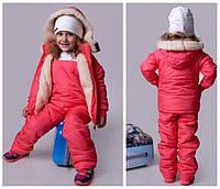 Детский зимний костюм комбинезон и куртка 2288